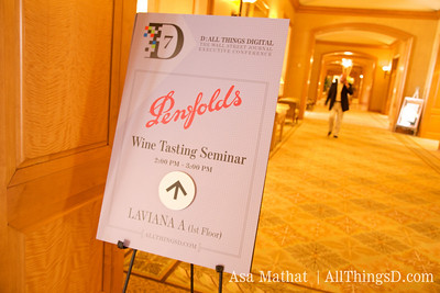 The Wine Tasting Seminar at D7, sponsored by Penfolds.