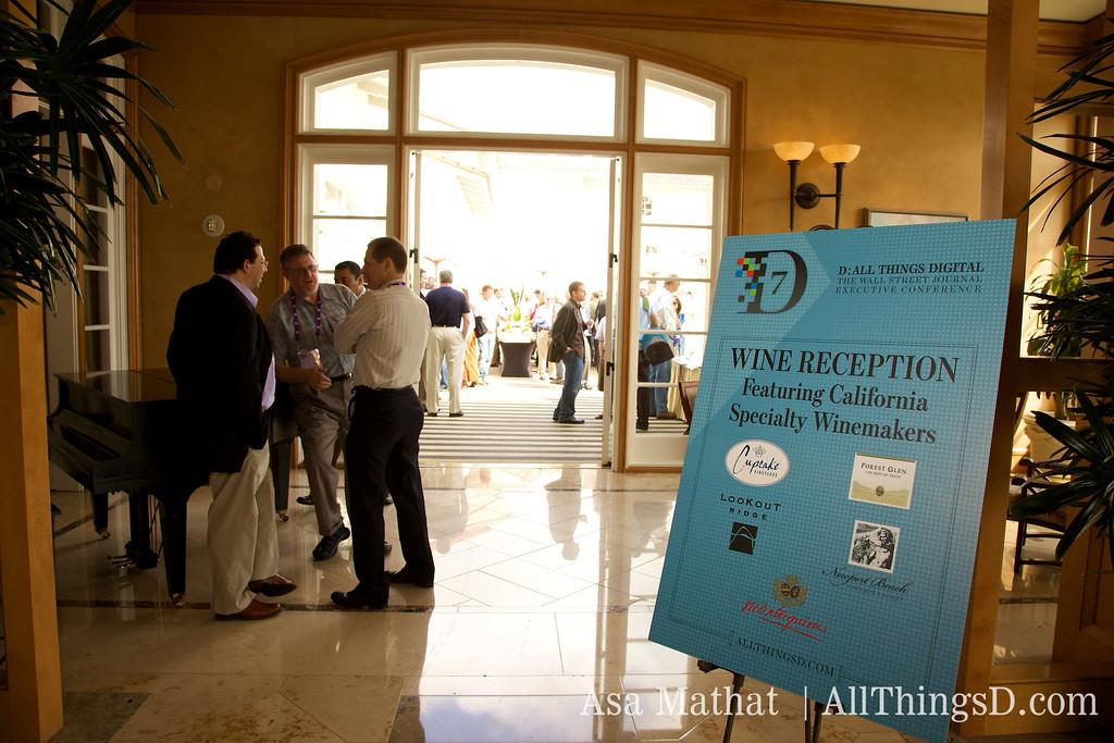 D7 Wine Reception.
