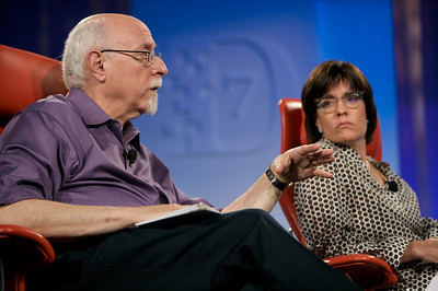 D7 co-executive producers Walt Mossberg and Kara Swisher.