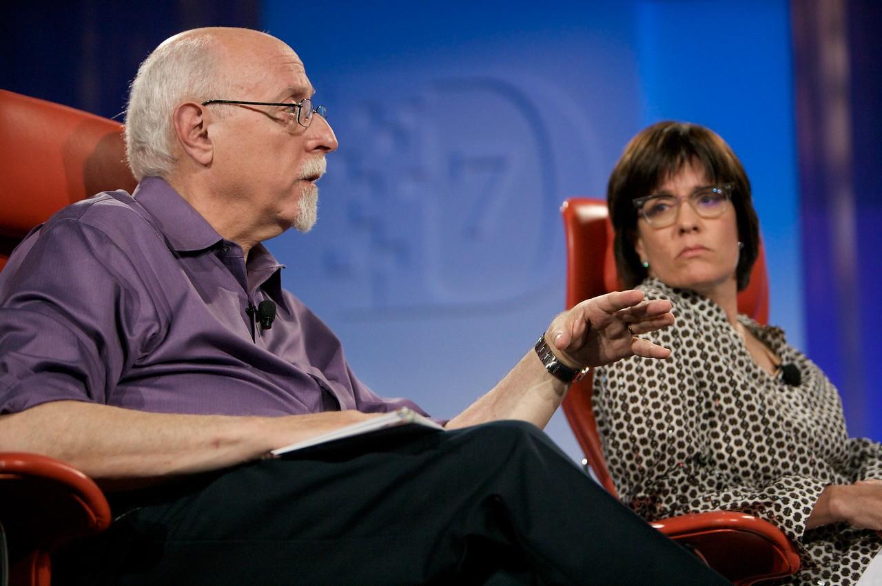 D7 co-executive producers Walt Mossberg and Kara Swisher.