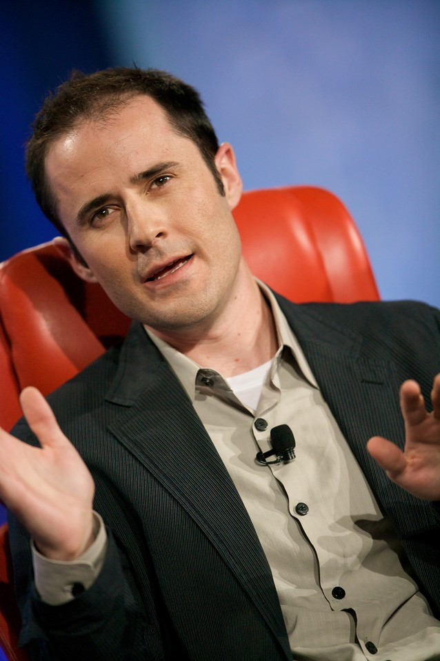 Twitter founder and CEO Evan Williams.