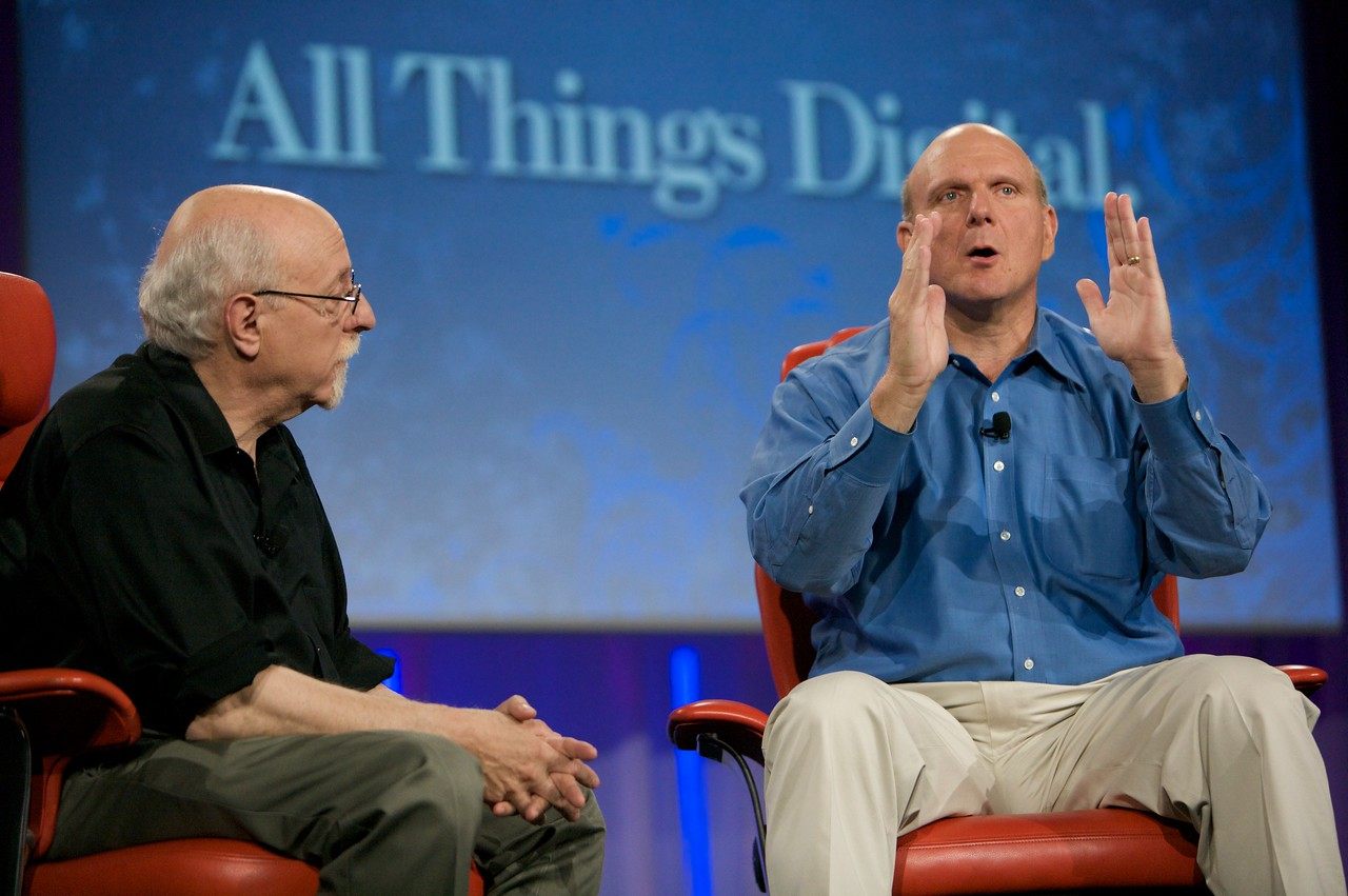 Microsoft search is this close, says CEO Steve Ballmer.