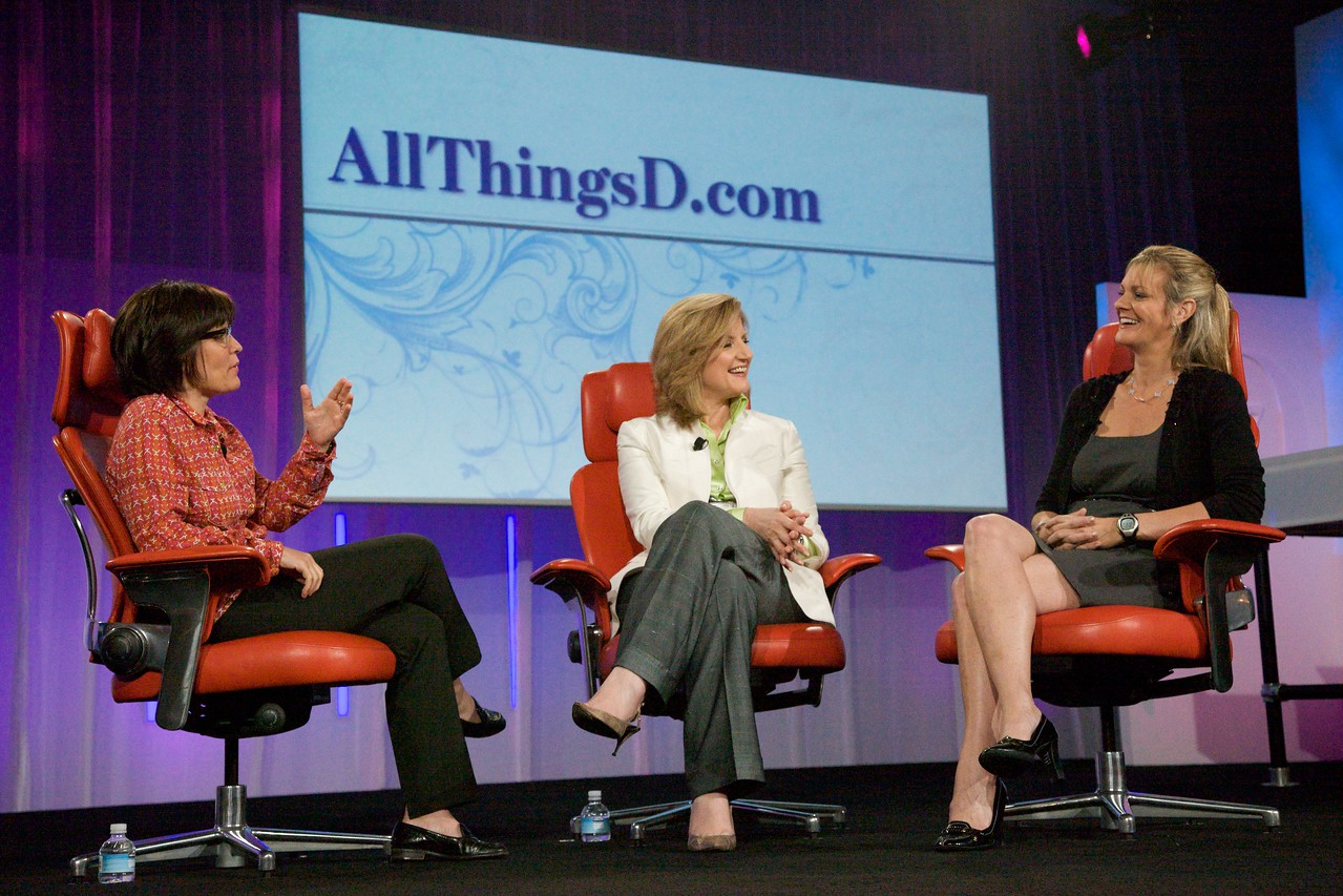 Kara Swisher interviews the Huffington Post's Arianna Huffington and The Washington Post's Katharine Weymouth.