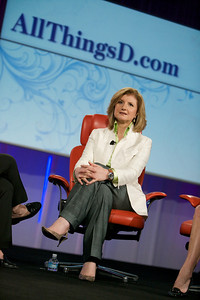 Arianna Huffington of the Huffington Post.