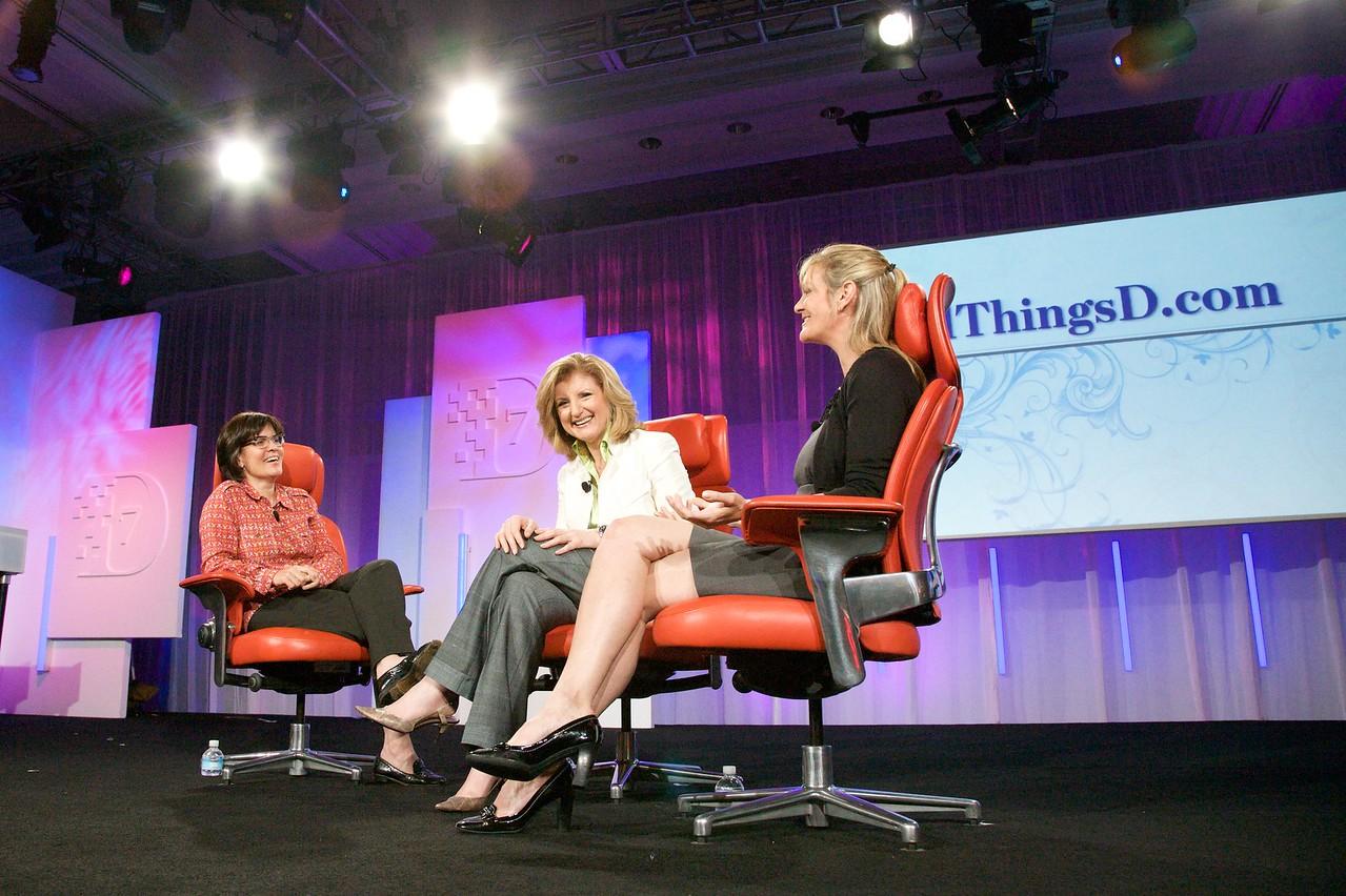 Three powerful women in news.