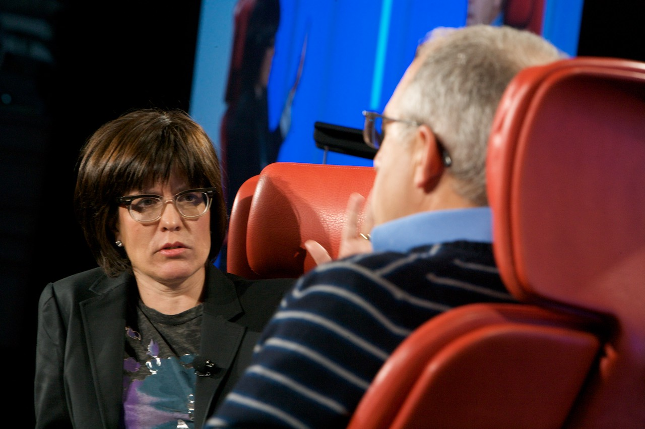Kara Swisher, co-executive producer of the D7 conference, interviews Irving Azoff, CEO of Ticketmaster.