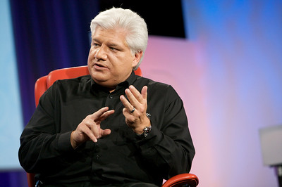 RIM co-CEO Mike Lazaridis onstage at D7.