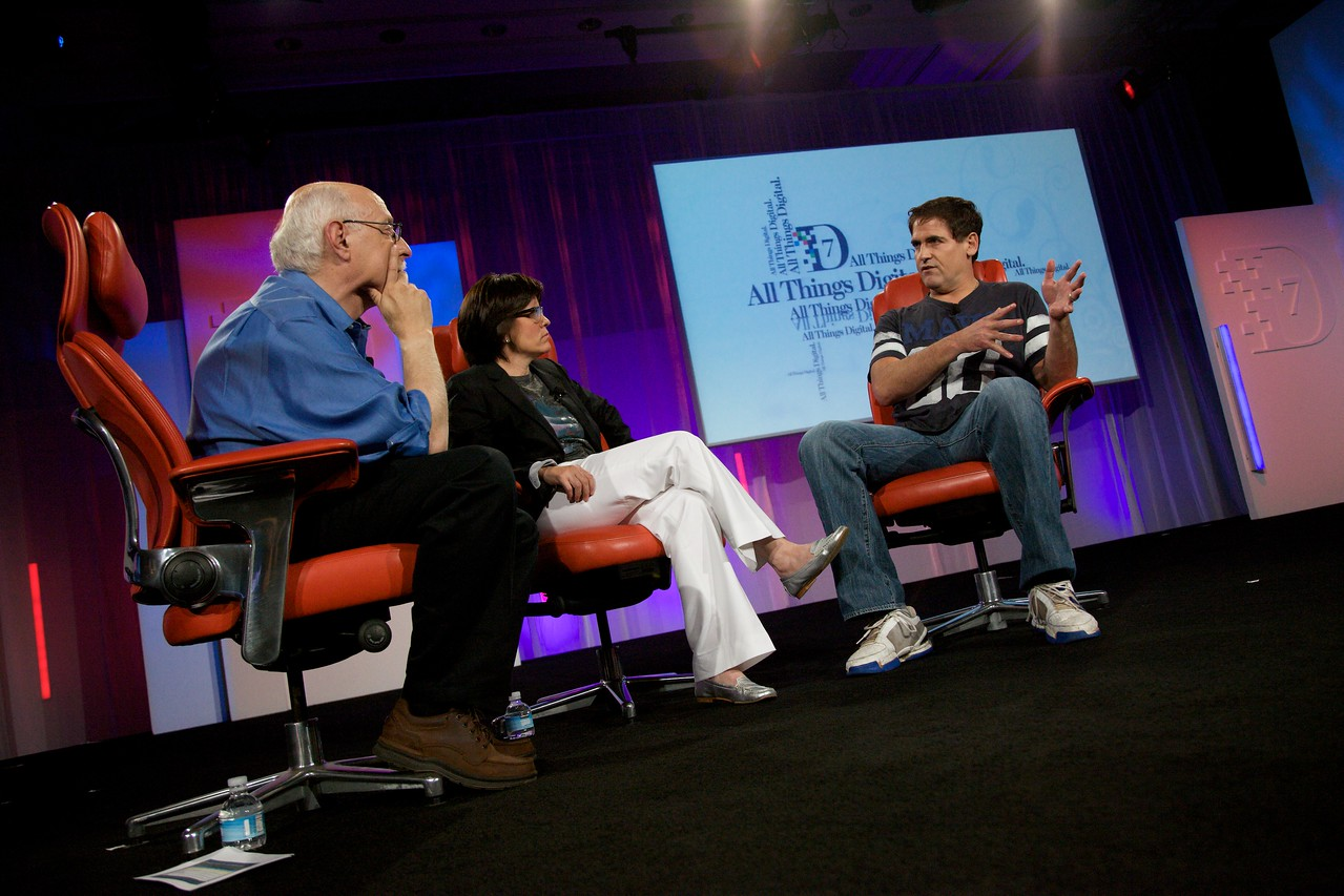 Walt Mossberg and Kara Swisher interview Mark Cuban, HDNet Chairman and owner of the Dallas Mavericks.