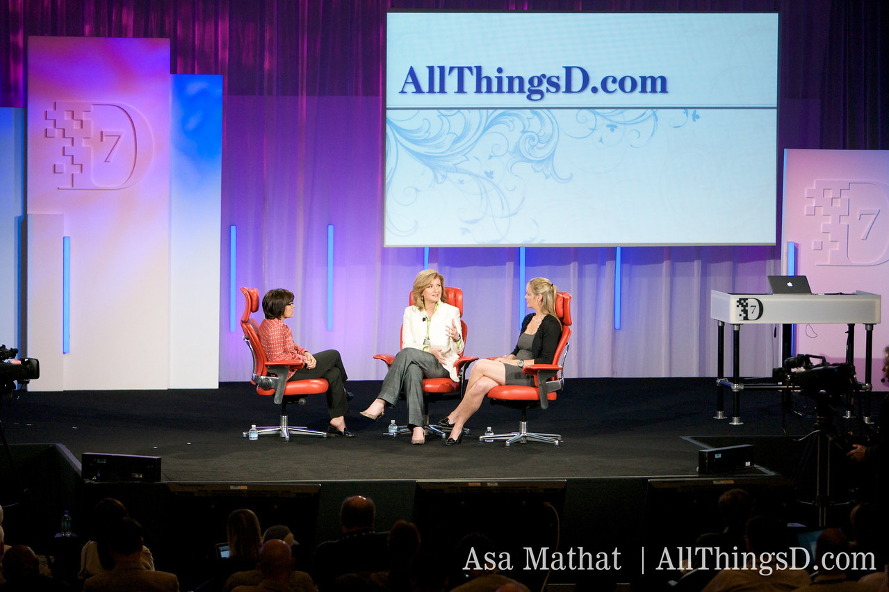 New media and old, onstage at D7.