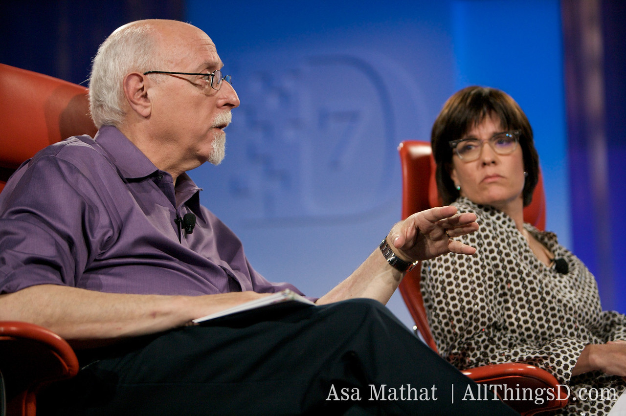 Walt Mossberg and Kara Swisher interview the founders of Twitter.