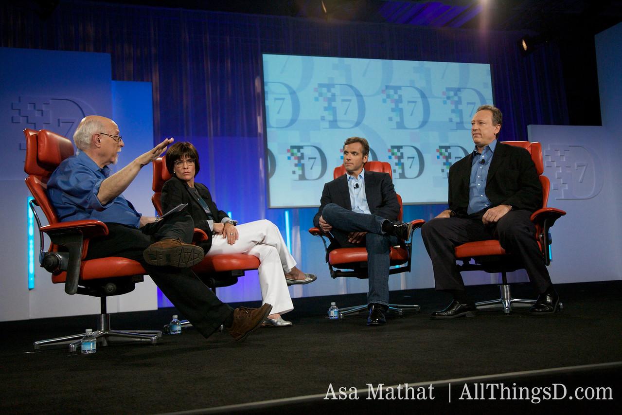 Walt and Kara interview News Corp's Chief Digital Officer Jon Miller and new MySpace CEO Owen Van Natta.