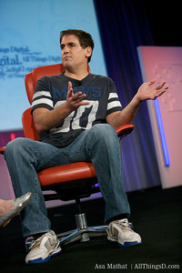 Mark Cuban onstage at D7.