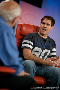 Mark Cuban at D7.