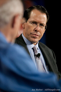 Up close with Randall Stephenson of AT&T.