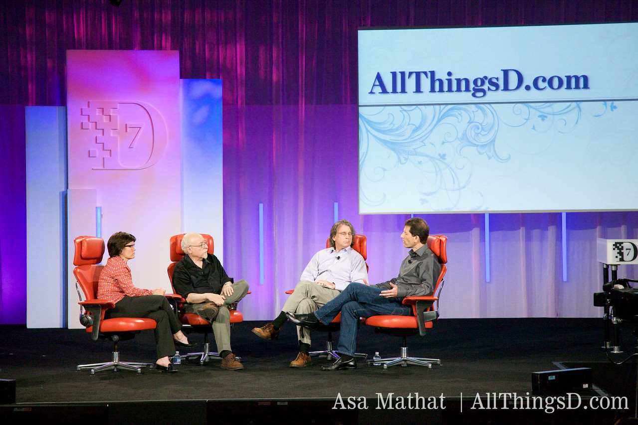 Walt and Kara interview Roger McNamee and Jon Rubinstein from Palm.