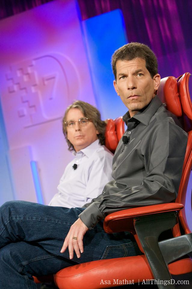 Jon Rubinstein and Roger McNamee.