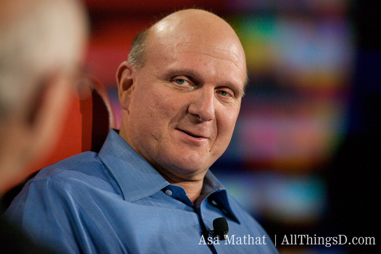 Steve Ballmer, CEO of Microsoft.