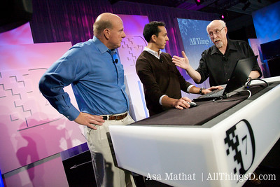 Walt asks a question during the bing demo.