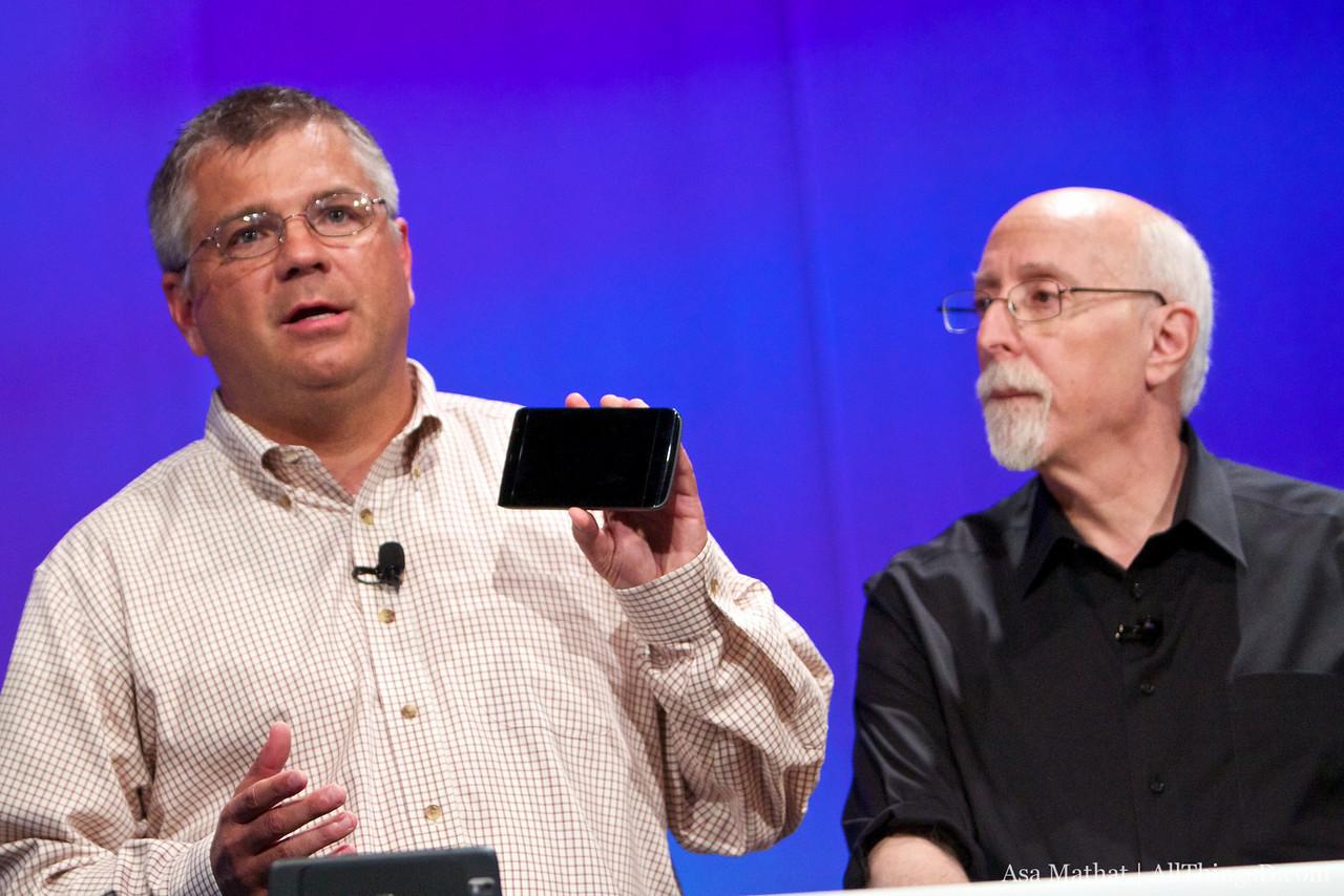 Bigger than a phone, smaller than an iPad: the Dell Streak.