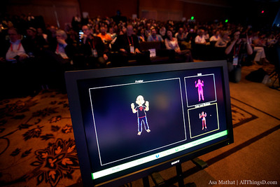 With skeletal tracking, what you do is reflected in your avatar with Microsoft's Project Natal.