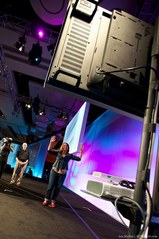 Microsoft XBox Project Natal demo.