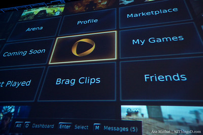 OnLive tech demo at D8.