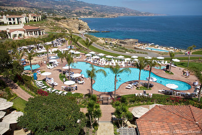All Things Relaxing -- balcony view from the Terranea Resort, D8 Conference.