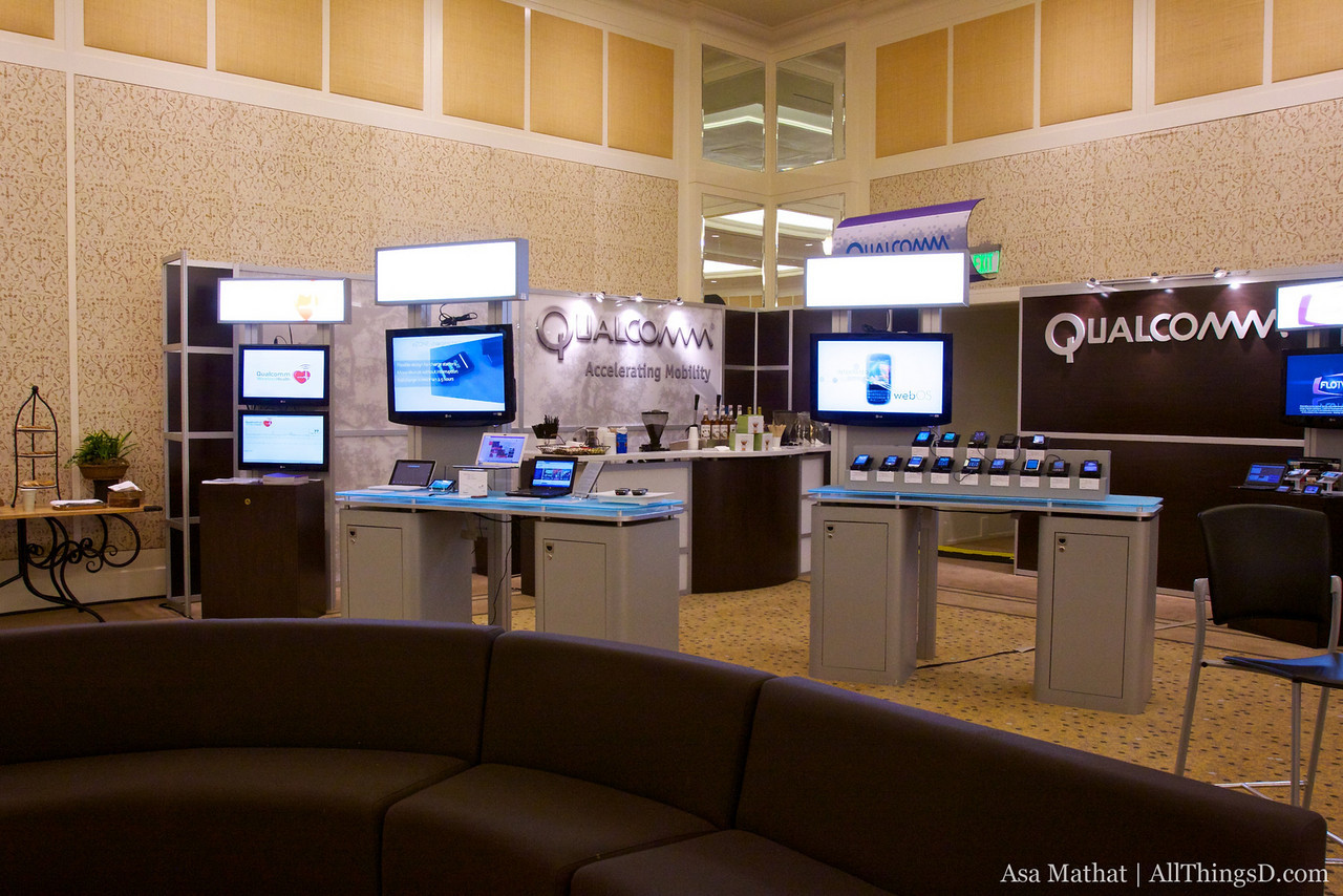Qualcomm Booth.