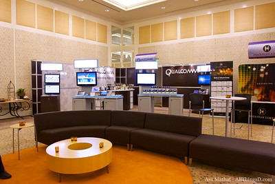 Qualcomm Booth.