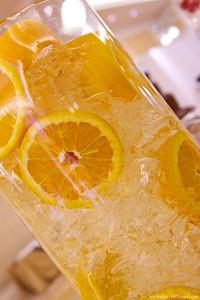 Iced oranges.