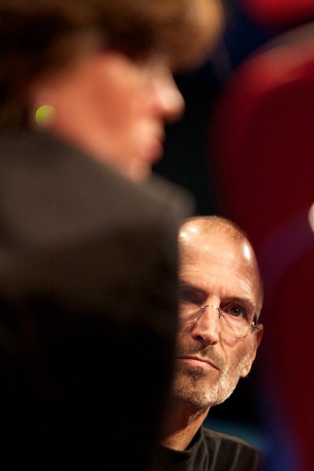Apple CEO Steve Jobs.
