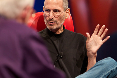 Steve Jobs at D8.