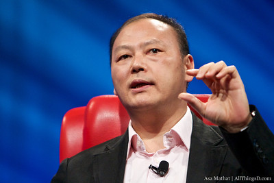 Peter Chou of HTC at D8.