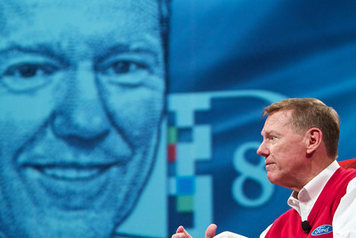 Alan Mulally, CEO of Ford Motor Company, at D8.
