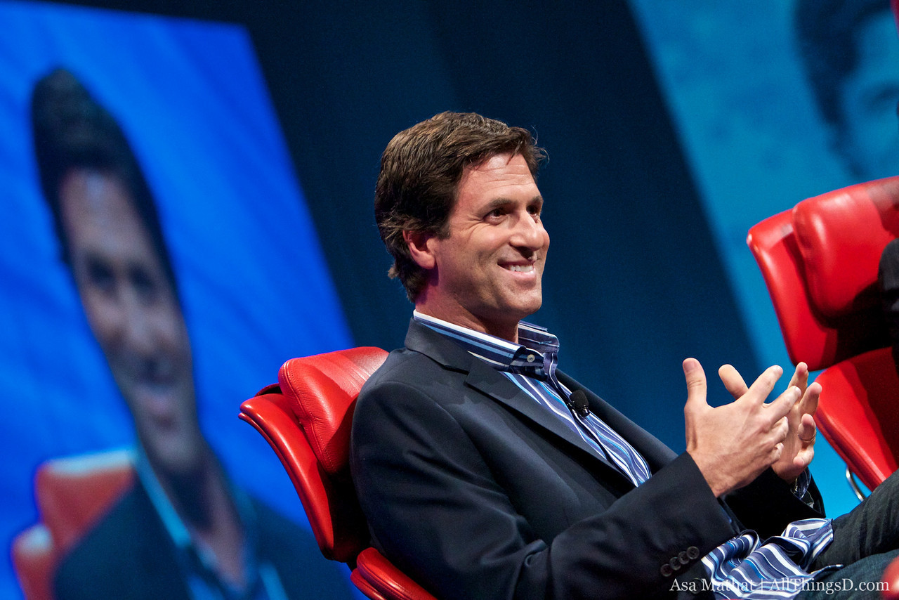 """Steve Levitan, co-creator and executive producer of """"Modern Family,"""" onstage at D8."""