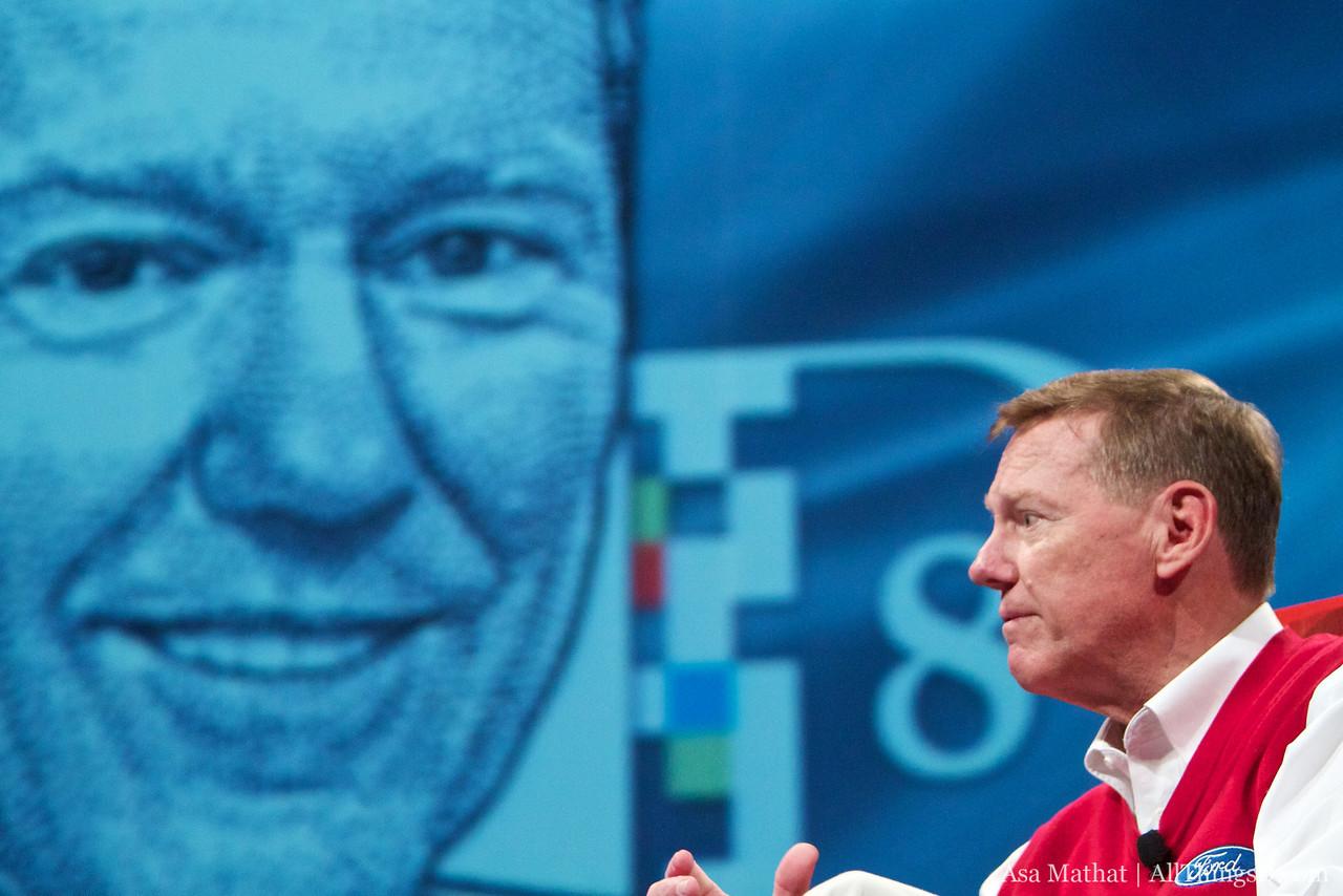 Alan Mulally, CEO of Ford Motor Company, at D8.