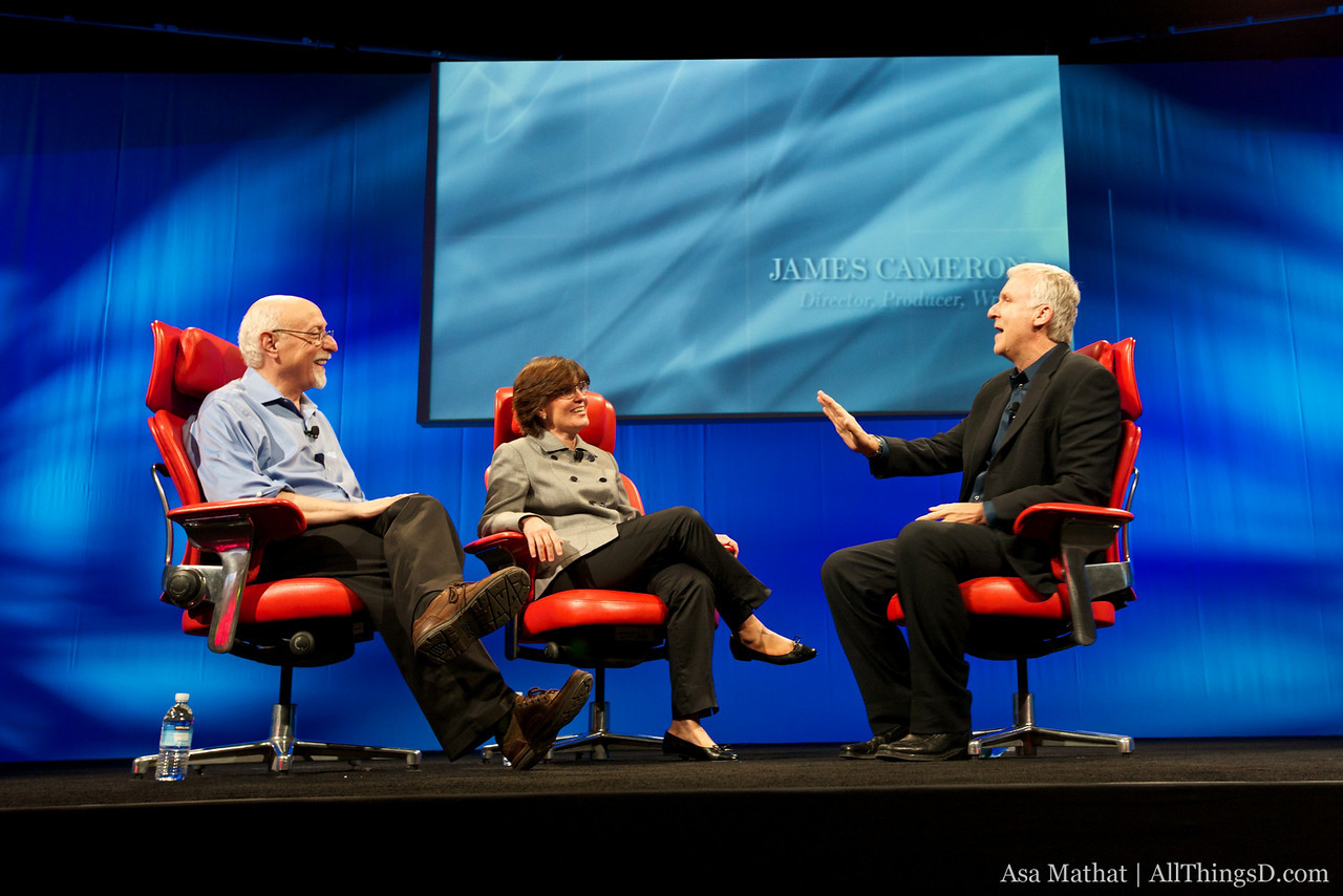 Walt and Kara close out day 2 of the D8 conference with James Cameron.