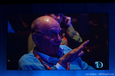 Cameron talks with Rupert Murdoch about the re-release of Avatar 3-D later this year.