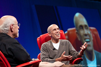 Jeffrey Katzenberg at D8.