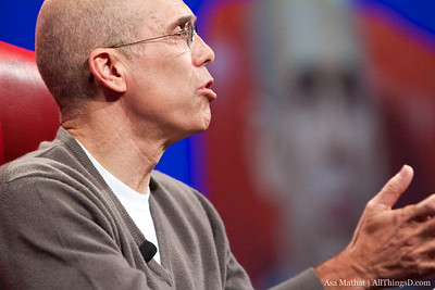 DreamWorks Animation SKG's Jeffrey Katzenberg at D8.