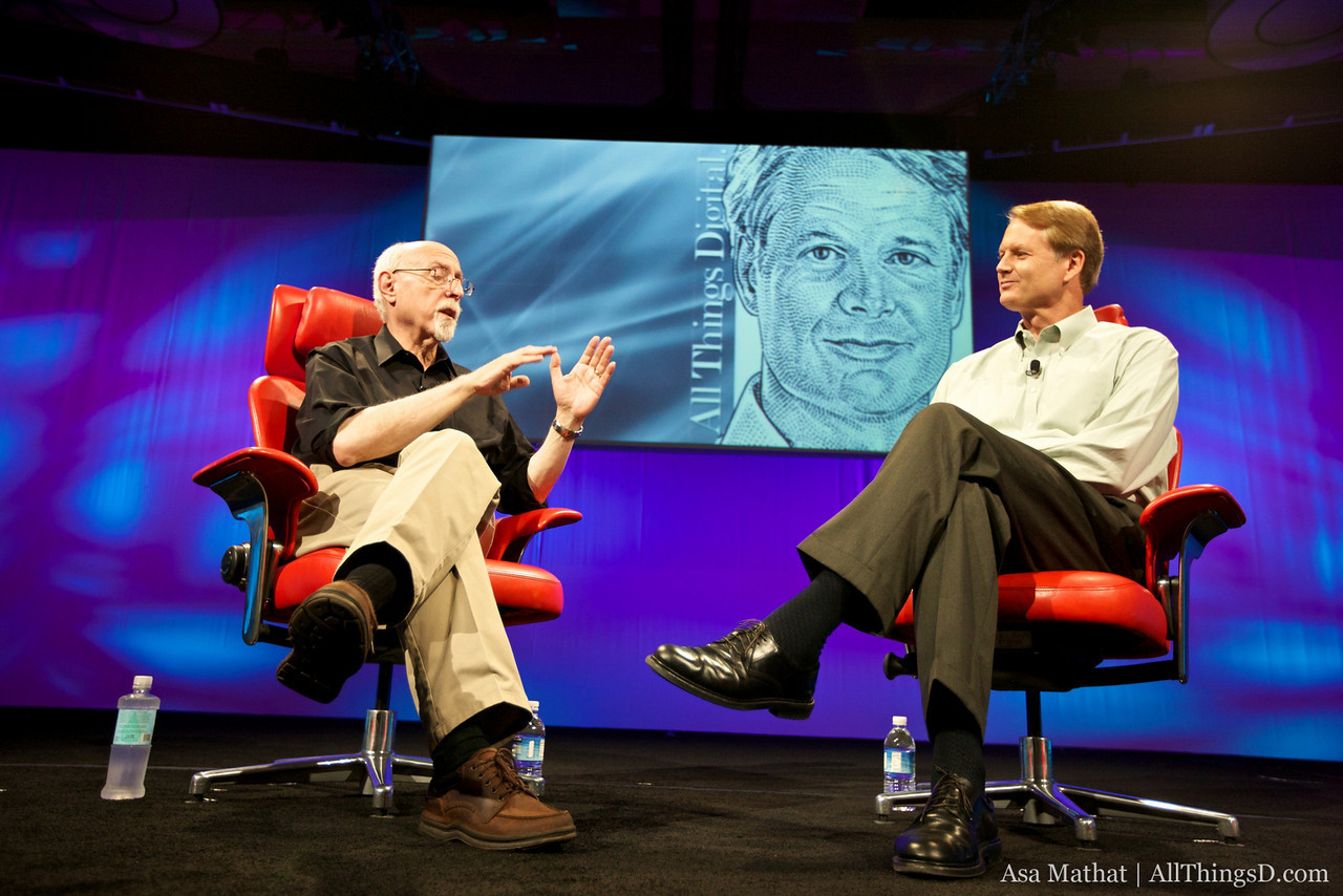 eBay CEO John Donahoe at D8.