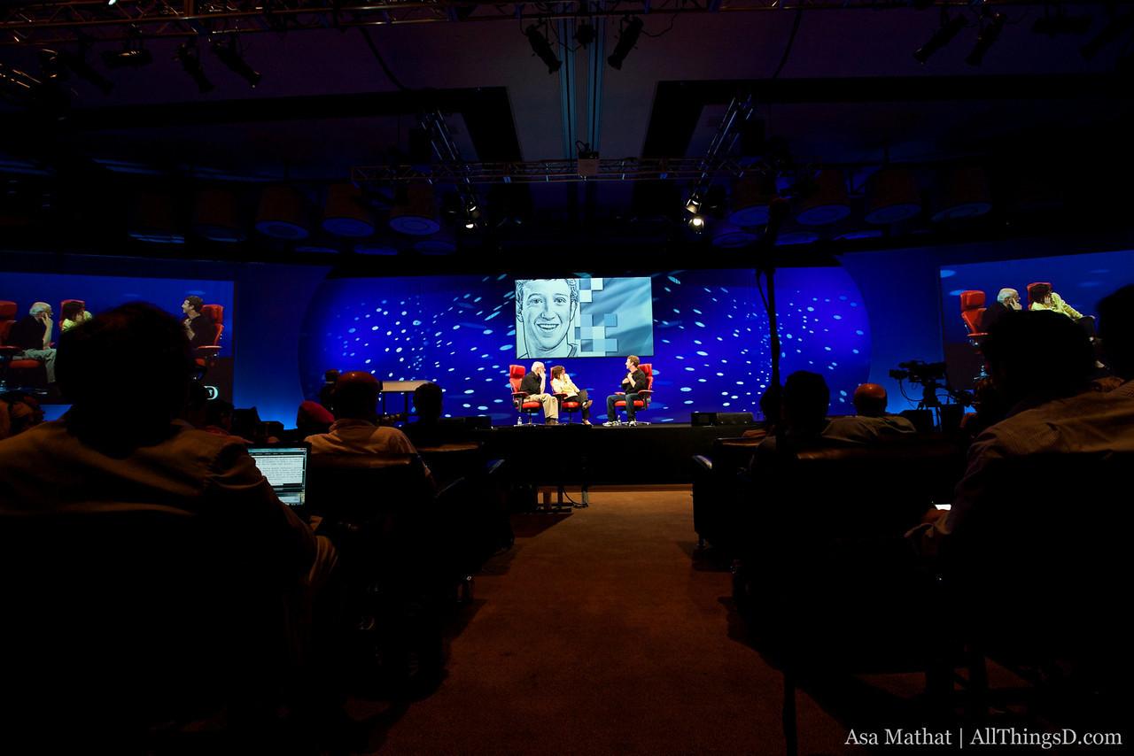Mark Zuckerberg session at D8.