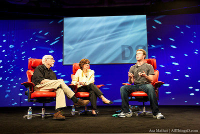 Mark Zuckerberg at D8.