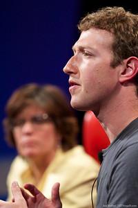 Mark Zuckerberg, CEO of Facebook, at D8.