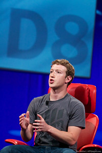 Mark Zuckerberg at D8.