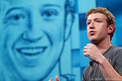 Mark Zuckerberg session at D8.