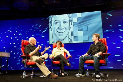 Walt Mossberg and Kara Swisher interview Facebook Founder and CEO Mark Zuckerberg.