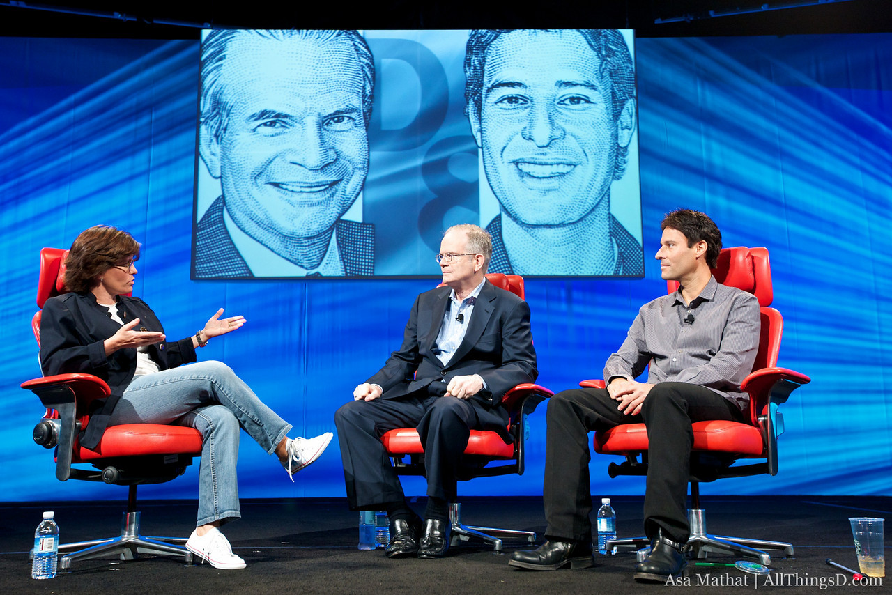 Kara Swisher interviews Paul Steiger and Richard Rosenblatt at D8.