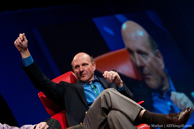 Steve Ballmer and Ray Ozzie session at D8.