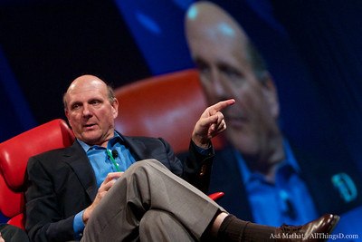 Microsoft CEO Steve Ballmer returns to the D conference.